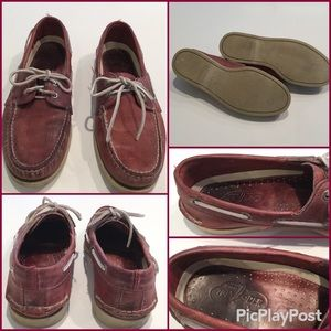 Sherry Top Sider Cordovan, SZ.9,Preowned.